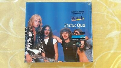 Status Quo  a very best of CD from France LES TALENTS DU SIECLE Nostalgie sealed