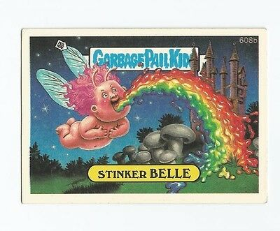 Stinker Belle 608b - Garbage Kübel Kinder GPK Original Series 15 Karte 1988