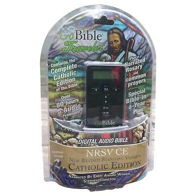 GoBible Traveler Digital Audio Bible- New Revised Standard Version, Catholic
