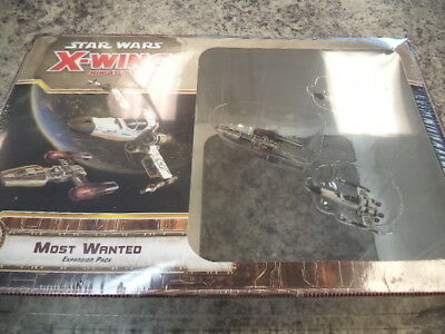 Star Wars X-Wing Most Wanted Expansion Pack Miniatures Board Game New