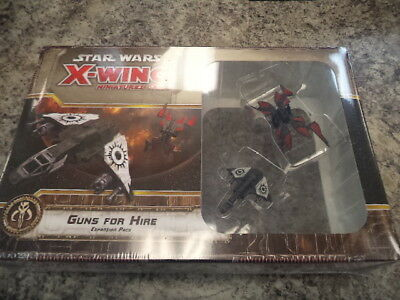 Star Wars X-Wing Guns for Hire Expansion FFG Games Miniatures Board Game New