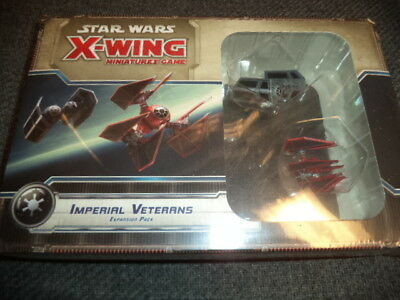 Star Wars X-Wing Imperial Veterans Expansion FFG Games Miniatures Game New