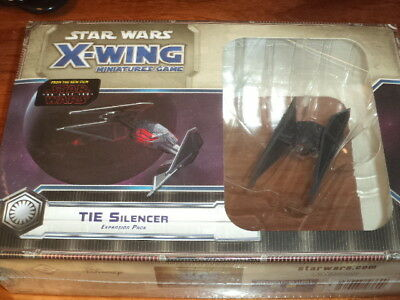 Star Wars X-Wing Tie Silencer Expansion FFG Games Miniatures Board Game New