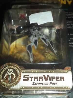 Star Wars X-Wing Star Viper Expansion Pack Miniatures Starviper Board Game New