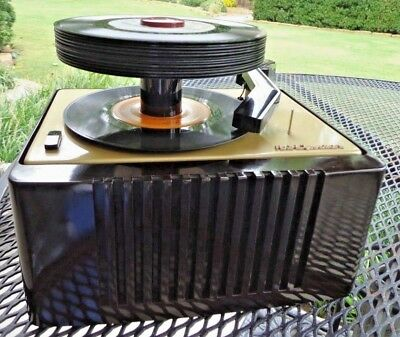 Very Nice Fully Restored Vintage 45 Rpm Rca Victor Record Player 45-Ey-2