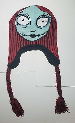 Sally Knit Hat Nightmare Before Christmas Red Black Blue Adult Beanie Gift