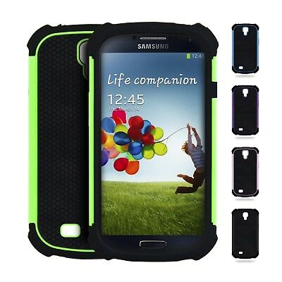 Coque Housse Protection Anti choc pour Samsung Galaxy S4 / S4 Mini Anti-dérapant