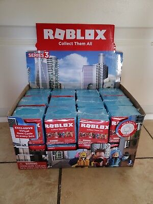 10 SEALED BOXES NEW HOT ROBLOX SERIES 3 BLIND BOX ACTION FIGURE LOT OF