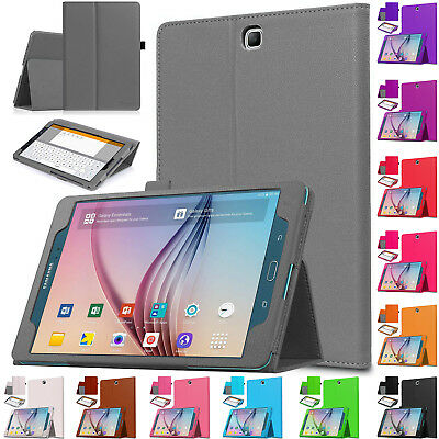"""Flip Cover Smart Leather Stand Case For Samsung Galaxy Tab A 9.7"""" SM-T550 T555"""