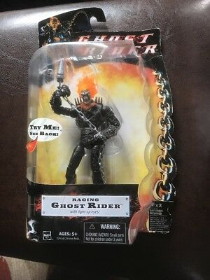 Ghost Rider Raging Ghost Rider Figure WITH LIGHT UP EYES NEW