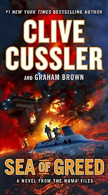 Sea of Greed (The NUMA Files) (Hardcover, 2018) by Clive Cussler, Graham Brown