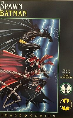Spawn Batman: Frank Miller, Todd McFarlane New Graphic Novel Image Comics