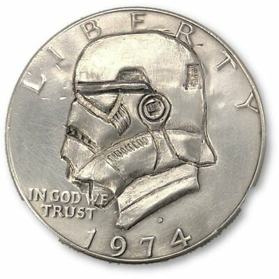 Stormtrooper Half Dollar-Hobo Nickel *Rev Tye's* #HBN34766