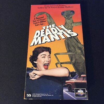 The Deadly Mantis (VHS, 1993)