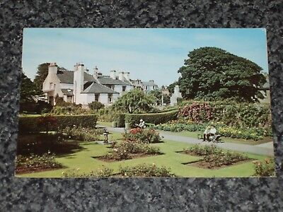 Lodge Rose Gardens  North Berwick   Postcard Vintage  1968  Posted Vgc