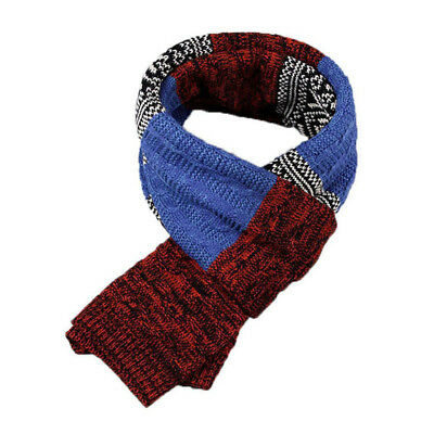 Men Womens Winter Warm Thick Knitting Wool Wrap Scarf Long Couple Twist Scarves