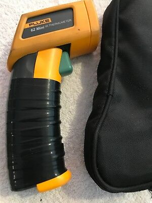 Fluke 62 Mini IR Thermometer, And Carrying Case
