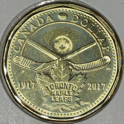 "CANADA 1$ Dollar 2017 ""100th anniversary of the Toronto Maple Leafs"" in MS"