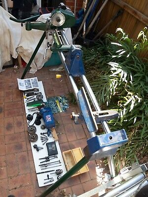 ' RECORD  POWER ' WOOD TURNING LATHE  - DML36SW MK2 converted from Model DML24X