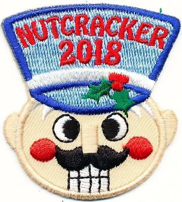 Girl Boy NUTCRACKER '18 Ballet Fun performance Patches Crest Badges SCOUT GUIDE