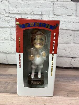 2017 Limited Edition Advertising Mr. Punch Racing Bobble Head | New In Box |