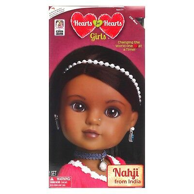 Hearts For Hearts Girls Nahji from India Doll * Mission World Vision