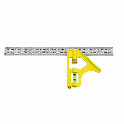 STANLEY 46-143 Combination Square 300mm Stainless steel