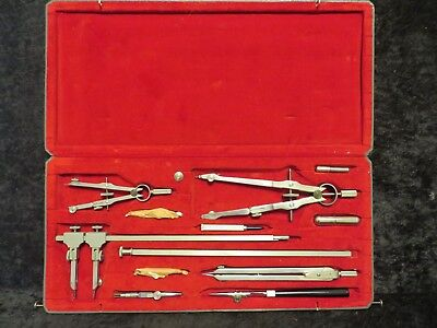 Dietzgen Master-Pro 1213-PJ 1930's Vintage Drafting Set NOS Never Used!