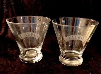 Baileys Irish Cream Tappered Rocks Glass - Set Of 2