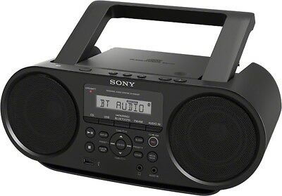 Sony ZS-RS60BT Bluetooth/NFC/CD/MP3/Line-in Jack/Headphone/Radio/CD-R Playback