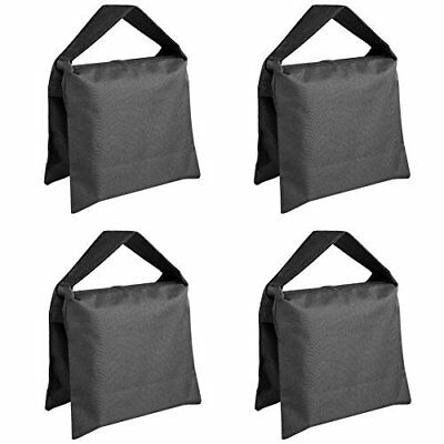 4 Pack Heavy Duty Photographic Sandbag for Studio Video Light Stands Tripod