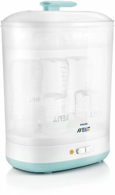 Philips Avent SCF922/01 2-in-1 Electric Steam Steriliser BPA Free 330ml