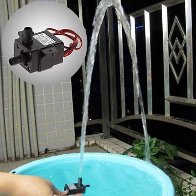 Ultra Quiet DC12V 3m 240L/H Brushless Motor Submersible Pool Water Pump Solar