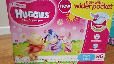 Baby Nappies Girl 4-8 Kg