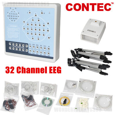 32 channels of EEG Digital Brain Electric Activity Mapping PC software KT88-3200