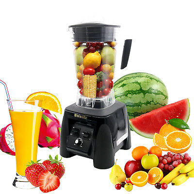 BPA Free 3HP 2200W Heavy Duty Commercial Blender Mixer Power Juicer Food Process