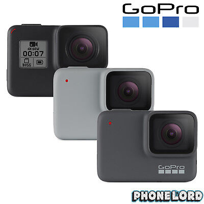 Genuine GoPro Hero 7 Black White Silver Action camera waterproof LCD HDR 4K