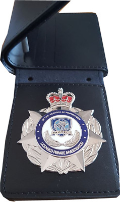 Licensed Private Investigator Wallet (Badge not Included here)