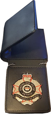 QLD Police Retired Wallet (Badge not Included here)