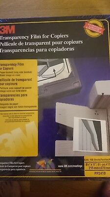 3M Transparency Film For Copiers PP2410