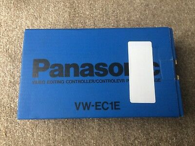 Panasonic VW-EC1E Video Editing Controller