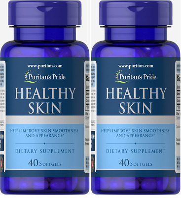 31,00 € -  Healthy Skin with Ceramosides ® Puritan's Pride 80 softgels