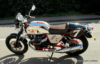 Moto Guzzi V7 Racer, Immaculate With Only 1,666 Miles And One Former Keeper