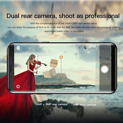 Octa-Core UHANS i8, 5,7 Zoll Android 7.0 Smartphone Handy 18: 9, 4G 4 + 64G