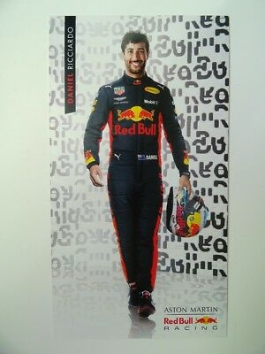 Daniel Ricciardo 2018 F1 Red Bull Racing Formula 1 card