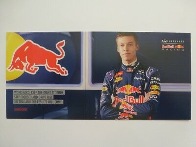 Daniil Kvyat Infinity Red Bull Racing Formula 1 card