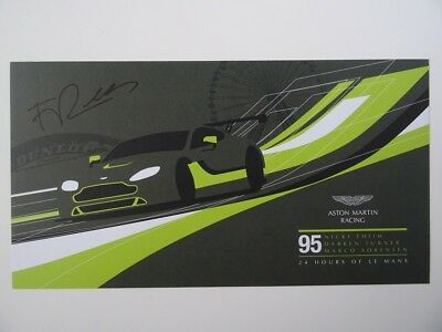 Aston Martin Racing #95 24h Le Mans card