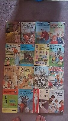 JOB LOT 50 VINTAGE and other  LADYBIRD CHILDRENS  BOOKS