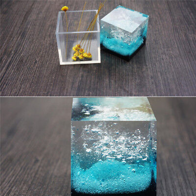Cube Silicone Mold Square Mold Diy Crystal Drop Gel Square Mold Square BE