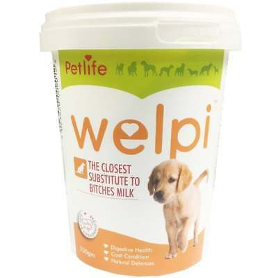 Welpi 250gm – Milk Substitute Whelping Formula For Puppies Bitches Ageing Dogs